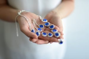 Brautaccessoires etwas Blaues Stella Kobenhavn