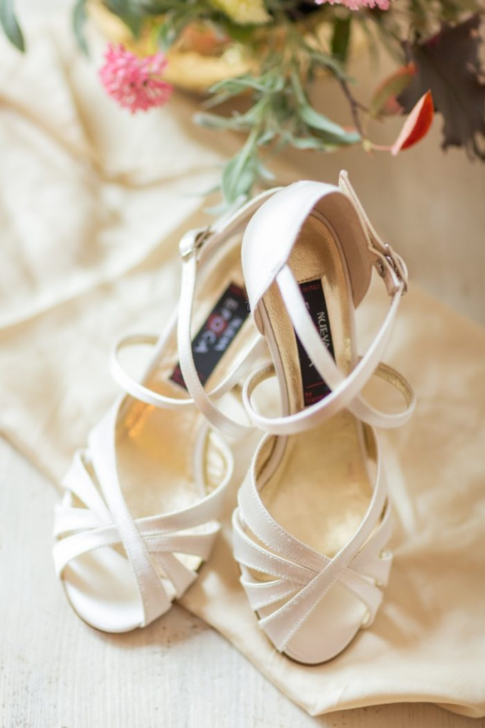 Elegante Brautschuhe