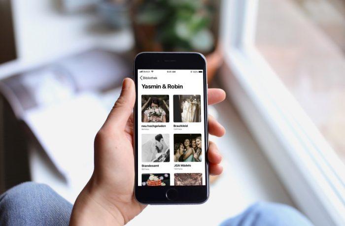 Hochzeitsfotos per App sammeln und teilen