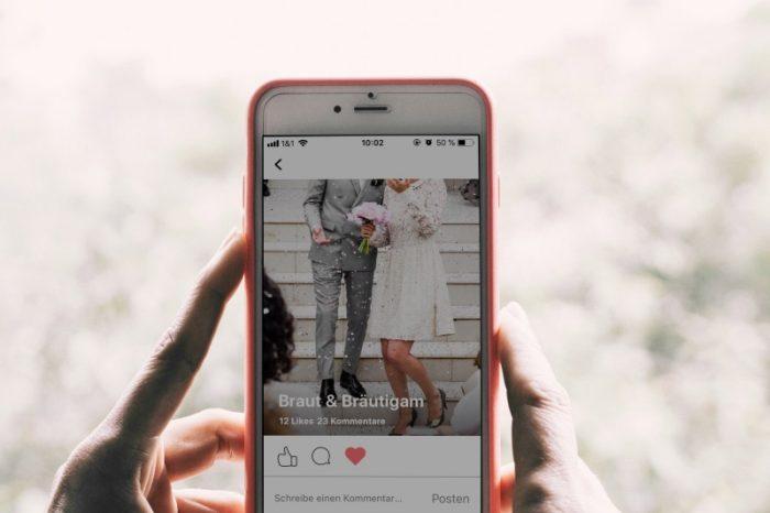 Interaktive Hochzeitsfoto App